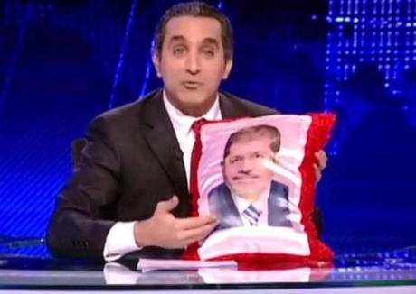 The Egyptian government began an investigation of TV comedian Baseem Yousef but dropped its charges after a public outcry.